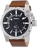 Diesel men's Quartz Watch Analogue Display and Leather Strap DZ4270
