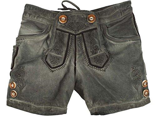 Marjo Kindershort Lederhose Kinder Jeans (116,...