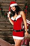 Damen Snow Star Weihnachten Fancy Kleid Kostüm