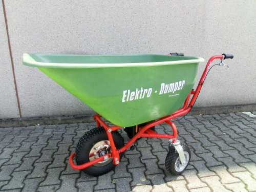 POWERPAC Wanne 180ltr. passend für ED120 - AKKUSCHUBKARRE ELEKTROSCHUBKARRE SCHUBKARRE DUMPER MOTORSCHUBKARRE -