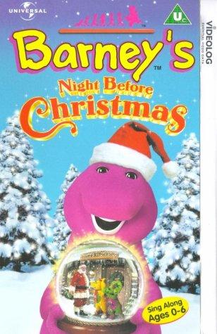 barney-barneys-night-before-christmas-vhs