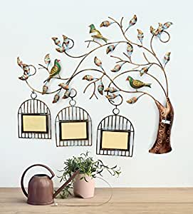 collectible india iron handmade bird tree design home decorative wall hanging living