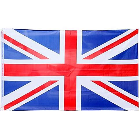 TRIXES Große Großbritannien Flagge Union Jack 5ft x 3ft Britische Flagge (Großbritannien Kostüm)