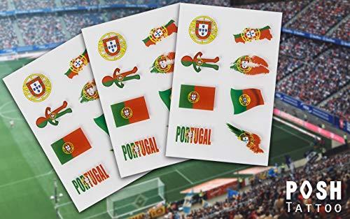 Bandiere tattoo   calcio flash tatuaggi per germania francia austria spagna italia   fan articolo   disponibile in diversi paesi