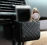 yosoo Autositz Auto Rückkehr Innen Air Wind Tidy Storage Ecke Bag Case Organizer Telefon Holder Cell Pouch Box Haken with