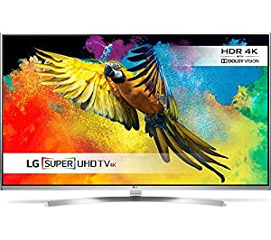 LG 49UH850V 49 Inch 3D SMART 4K Ultra HD HDR LED TV Freeview HD Freesat HD (Certified Refurbished)