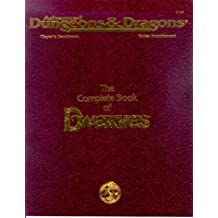 Complete Book of Dwarves (Advanced Dungeons and Dragons, 2nd Edition, Phbr6)