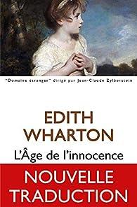 Le temps de l\'innocence par Edith Wharton