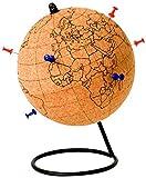 Unbekannt Gift Republic Farbe Globe, Kork, braun, 14x 14x 20,9cm