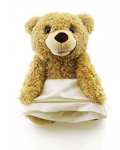 (30CM Peek a Boo Bear spielen verstecken und tragen Kinder Geburtstagsgeschenk Cute Music Bear Plüsch Spielzeug)