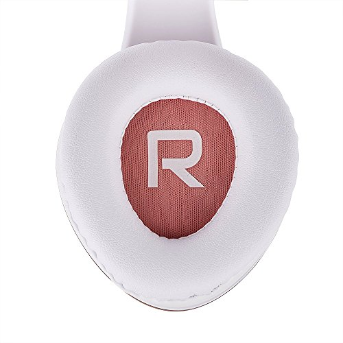 PowerLocus Bluetooth Over-Ear Kopfhörer, Kabellos Stereo Faltbare Kopfhörer Kabellose und Kabel-Kopfhörer mit Integriertem Mikrofon, Micro SD/TF, FM für Handys/iPad/Laptops & PC (Rose Gold) - 3