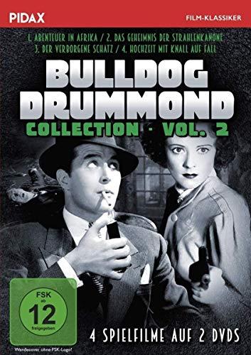 Bulldog Drummond - Collection, Vol. 2 / Weitere vier spannende Abenteuer mit dem bekannten Privatdetektiv (Pidax Film-Klassiker) [2 DVDs]