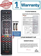 Airtel DTH 100% Original Universal HD Recording Remote (Directly From The Manufacturer) With 1 Year Warranty (Also Works with all TV) Check Images Before Purchase