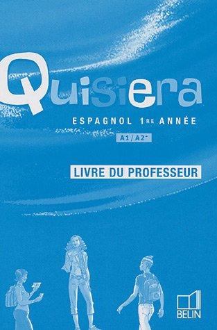 Espagnol 1e année A1/A2- : Livre du professeur par Reynald Montaigu, Elisabeth Mazoyer, Jean-Patrick Mazoyer