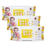 #8: Mee Mee Caring Baby Wet Wipes with Lemon Fragrance - 72  pcs (Pack of 3)