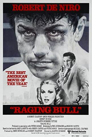 RAGING BULL MOVIE POSTER PRINT APPROX SIZE 12X8 INCHES