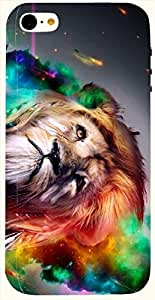 Lovely multicolor printed protective REBEL mobile back cover for iPhone 5C D.No.N-L-12898-IP5C