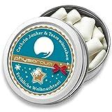 DOCTORS Gum, 1 St. | Werbeartikel mit Druck | Xylitol Kaugummis in Retro-Metalldose | Werbegeschenke mit Logo | Werbemittel Weihnachten (1 Stück)