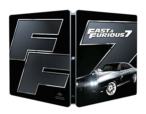 fast and furious 1 7 blu ray Blu-Ray - Fast And Furious 7 (Steelbook) (1 Blu-ray)