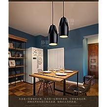 Los países nórdicos minimalista moderno dormitorio salón restaurante candelabros de cerámica industrial retro lámparas de mesa de comedor salón creativa /13x26cm Comedor