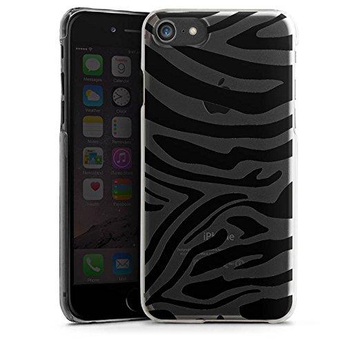 Apple iPhone X Silikon Hülle Case Schutzhülle Zebra Muster ohne Hintergrund Transparent Tiere Hard Case transparent