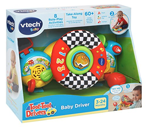 """Vtech 192503 """"Toot-Toot Drivers Pushchair Driver"""" Toy"""