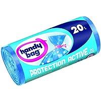 Práctico Bolsa 3557880352004 bolsas activas de basura Protección con cinta para el cierre 20 l 45 x 50 cm 20 piezas por carrete 3 rollos