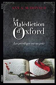 La malédiction d'Oxford par Ann A. Mcdonald