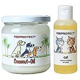 Feeprotect Coconut oil und Feeprotect cat Kombipack für Katzen