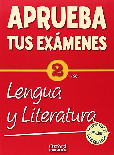 Aprueba tus Exámenes: Lengua Castellana y Literatura 2º ESO Pack: Cuaderno Test 14-9788467385892