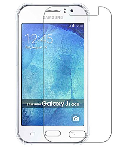 SNOOGG SAMSUNG GALAXY J1 ACE Full Body Tempered Glass Screen Protector [ Full Body Edge To Edge ] [ Anti Scratch ] [ 2.5D Round Edge] [Hd View] - White  available at amazon for Rs.125