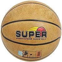 CN Baloncesto de Cuero de Microfibra No. 7 Bola Azul Deportes artículos Deportivos,Amarillo,Numero 7