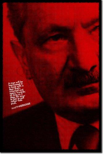 TPCK Martin Heidegger Kunstdruck Hochglanz Poster - Maße: 60 x 40 cm