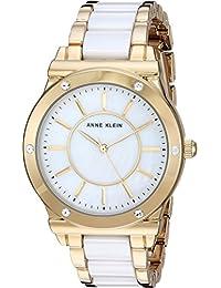 Anne Klein AK/2820WTGB - Reloj de Pulsera para Mujer (Cristales Swarovski, Tono