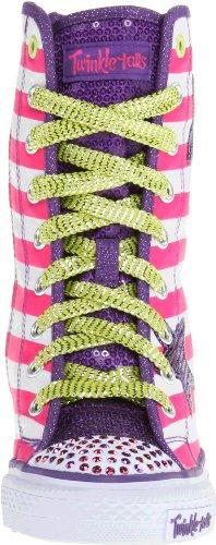 Skechers GimmeGoin' Wild 83631L Mädchen Sneaker Weiß (WMLT)