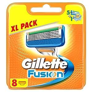 Gillette Fusion Klingen–Pack von 8–frustrationsfreie Verpackung