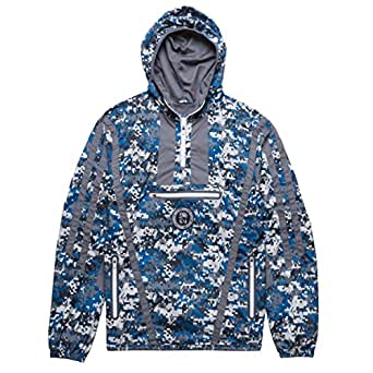 CHABOS IIVII Herren Jacken / Übergangsjacke Zip Hooded camouflage S