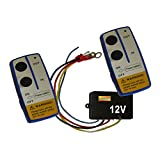 Wireless Winch Remote Control 12 V Volt Recovery 4x4 ATV Twin Hand Set ME/W1003S