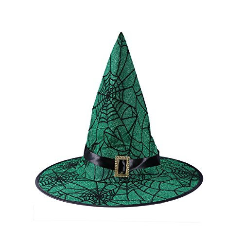 BESTOYARD Spinnennetz Hexe Hut Halloween Party Hut Party -
