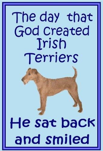 Irish Terrier-Neuheit Hund Kühlschrank Magnete-viele Designs erhältlich -