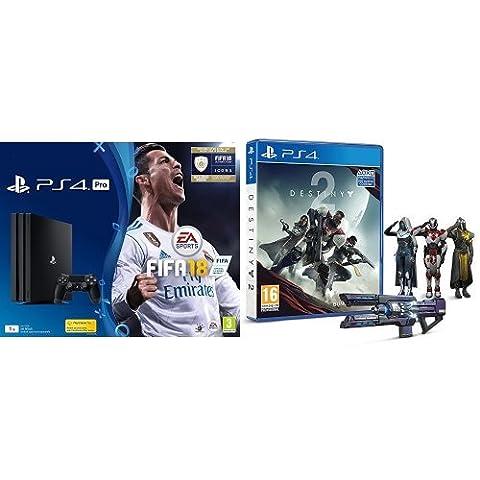 Pack PS4 Pro + FIFA 18 Deluxe + Destiny 2 + Final Fantasy XV