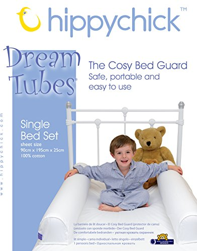 Hippychick Dream Tubes Bed Bumpers – Single Bed Set
