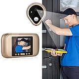 AIMADO große Sichtwinkel visuelle Türklingel 720P hochauflösende elektronische Katzenauge Kamera Mit LED Anzeige unterstützt V...
