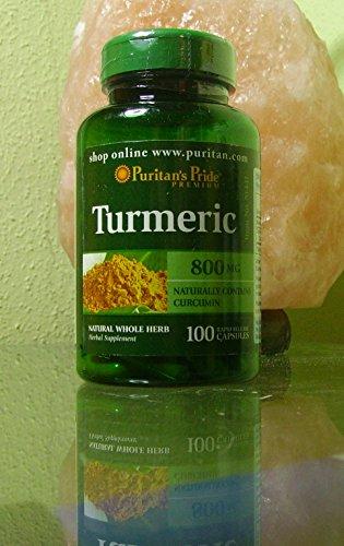 CURCUMA- Turmeric 800 mg-100 Caps Puritan's Pride