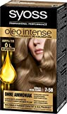 Syoss Oleo Intense Haarfarbe, 7-58 Kühles Beige-Blond, 3er Pack (3 x 115 ml)