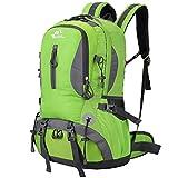 Buself 40L Leichte Wanderrucksack, Multifunktionale Wasserdicht Casual Camping Tagesrucksack für Outdoor-Sport Klettern Bergsteiger 52 X 30 X 21 cm