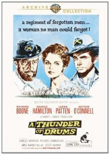 A Thunder Of Drums by Richard Boone