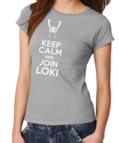 Loki - Girls T-Shirt Sports Grey, Größe M ()