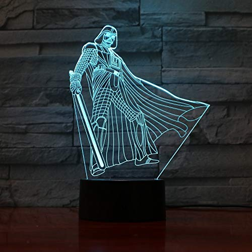 Neuer Charakterillusionstabellenlichtnachtnotenlicht-Fernsteuerungsfarbjungen-Geschenktaucher