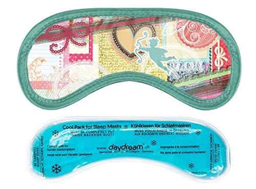 daydream: Premium-Schlafmasken mit Kühlkissen (auch als Kühlmaske verwendbar), verschiedene Designs (M-3060)